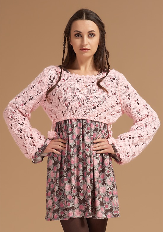 cod 242 handmade lace shrug pink  princess handle with care