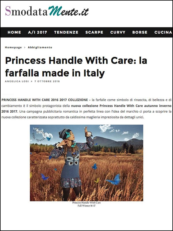 princess handle with care maglieria made in italy
