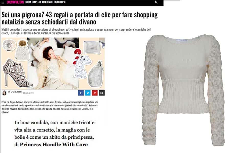 shopping online made in italy