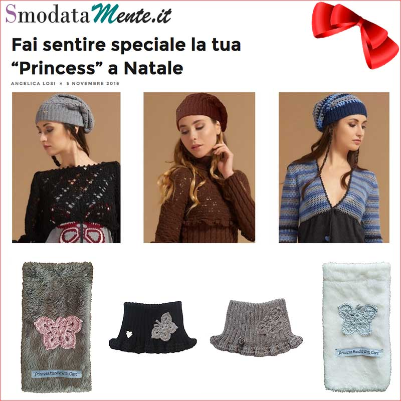 REGALI DI NATALE: ACCESSORI MADE IN ITALY ED ARTIGIANALI accessori in lana princess handle with care