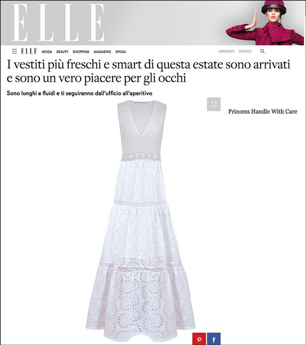 vestiti lunghi princess handle with care elle