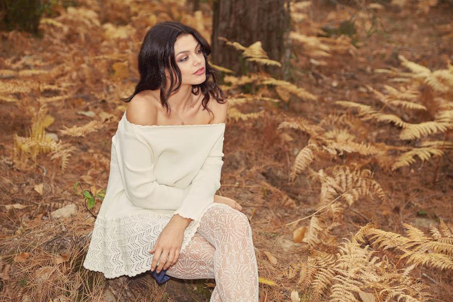 editoriale foresta boho chic collezione invernale donna 2018