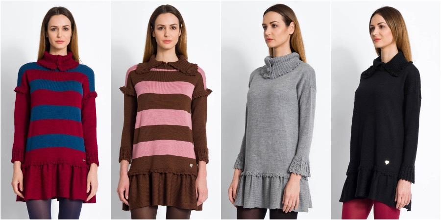 abiti donna in lana