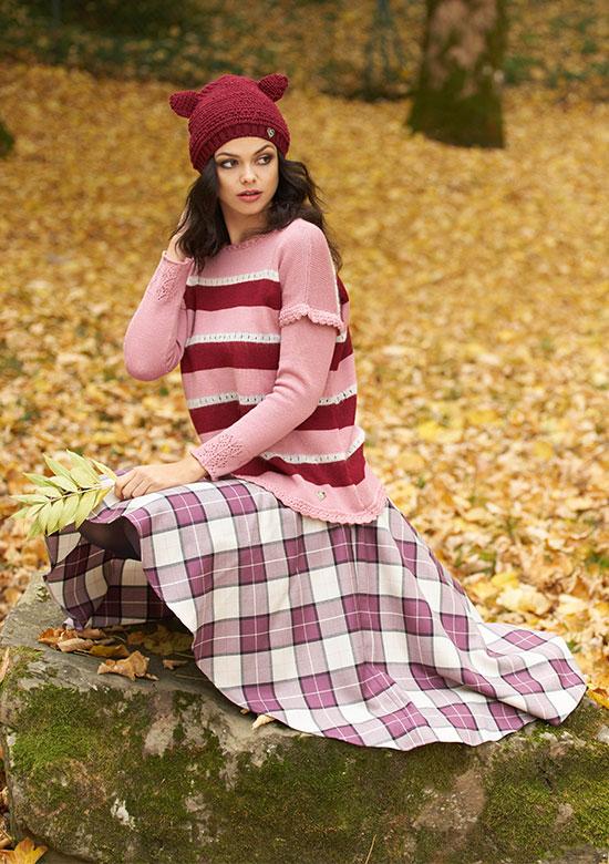 editoriale foresta hippie boho chic moda donna princess handle with care