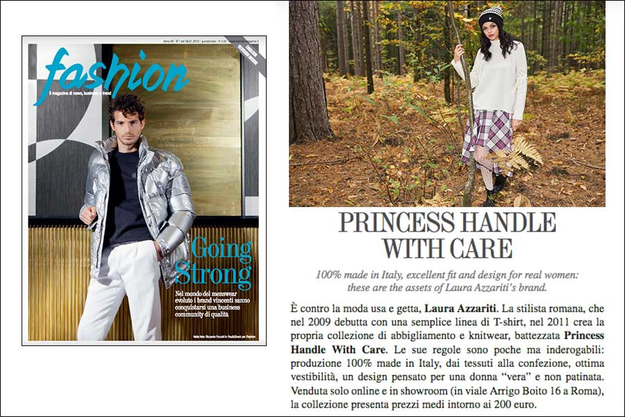 princess handle with care marchio di moda etica