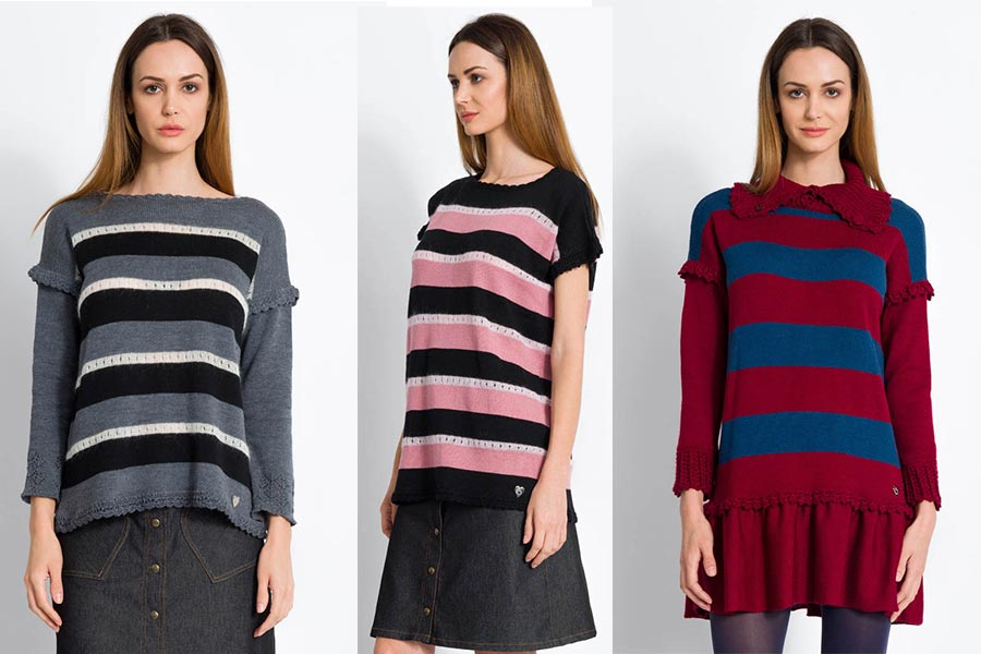 Striped Knitwear - Fashion Trend Winter 2018