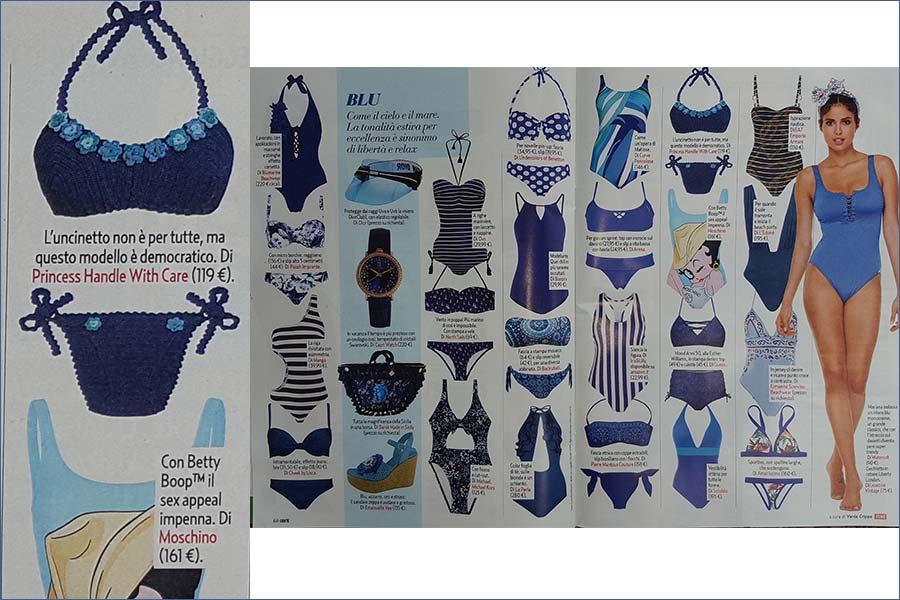 Bikini in puro cotone ecologico made in italy shop online