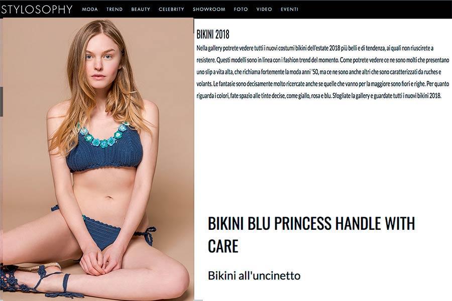 bikini in cotone