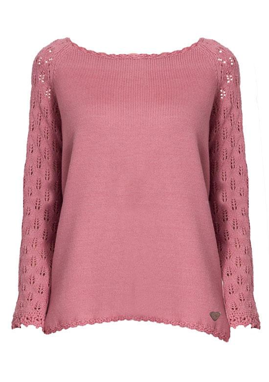 maglia maniche pizzo merino rosa maglioncino mezze maniche mohair celeste Princess Handle With Care