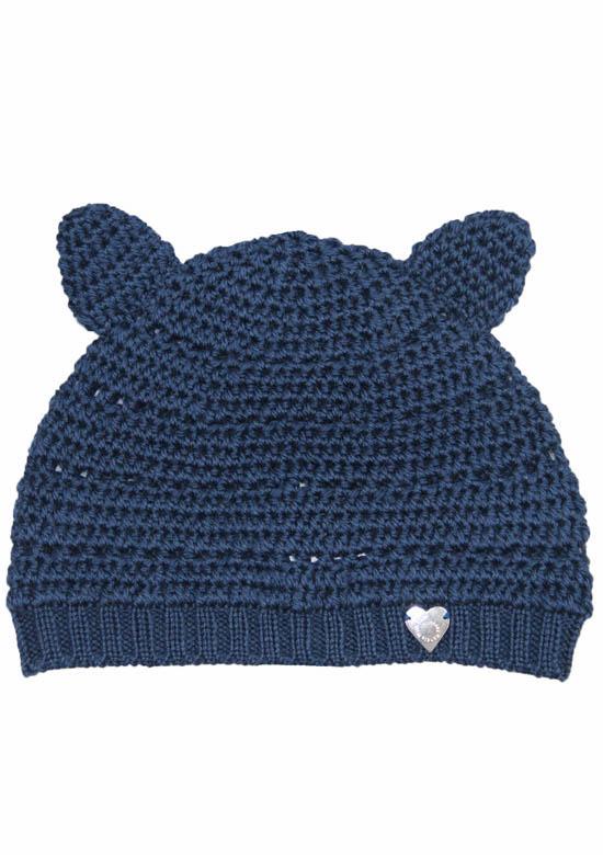 cappello lana orecchie gatto Princess Handle With Care