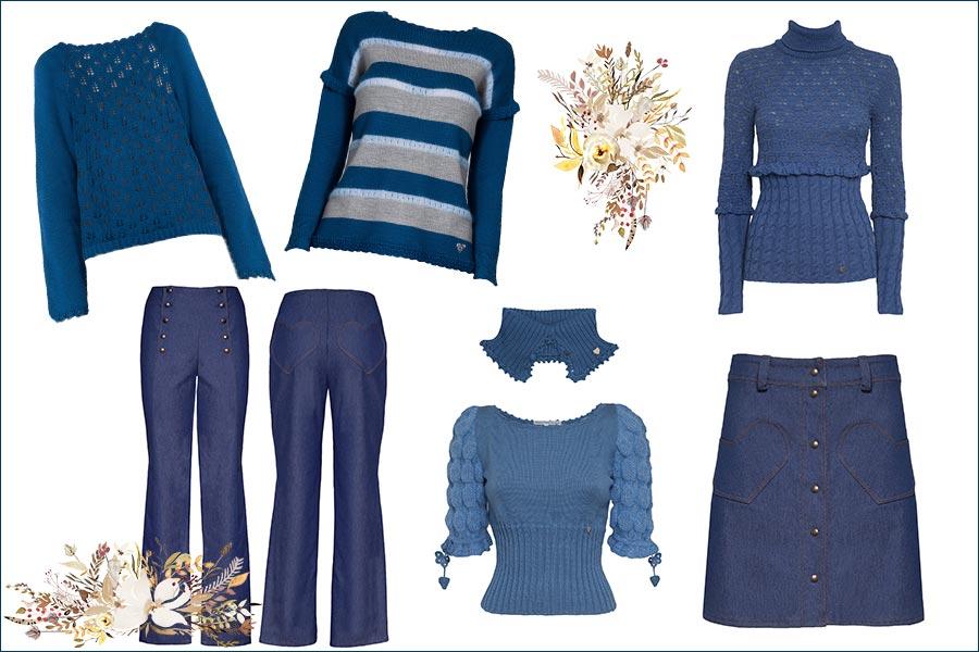 Blu: colore tendenza per la moda invernale